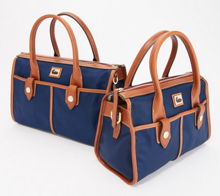 Dooney & Bourke Camden Collection Nylon Satchel