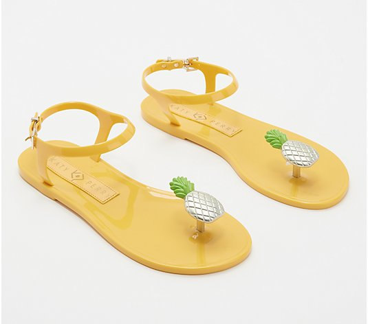Katy Perry Scented Jelly Thong Sandals - The Geli