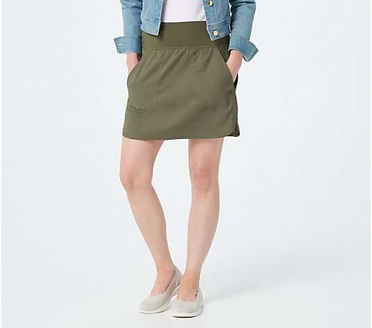 zuda Z-Eco Cityscape Skort with Pockets
