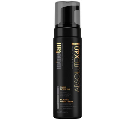 MineTan Absolute x40 Self Tan Foam, 6.76 fl oz