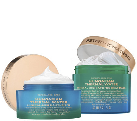 Peter Thomas Roth Hungarian Heat Mask and Moisturizer Duo