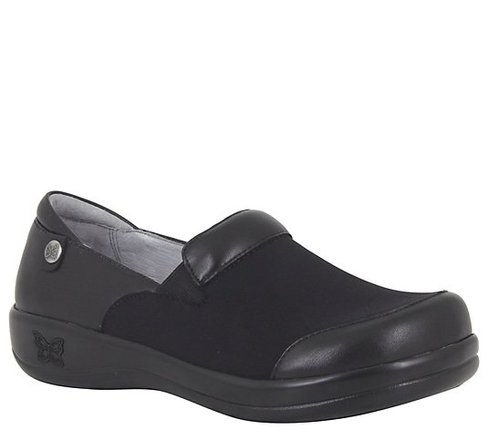 Alegria Leather Slip-On Shoes - Keli