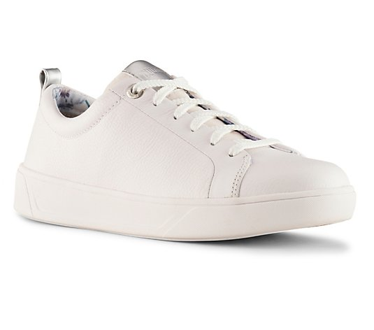 Cougar Lace-Up Leather Fashion Sneakers - Bloom