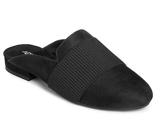 Aerosoles Slip-On Flat Mules - Look Out