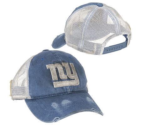 NFL New York Giants Retro Trucker Hat — QVC.com 3bf2a6b2c