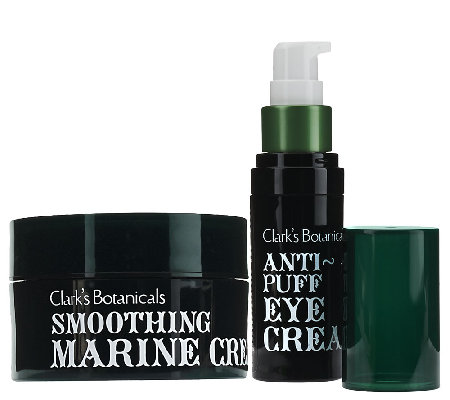 Clark's Botanicals Marine Cream & Anti-Aging Eye Cream