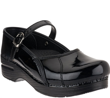 Dansko Patent Leather Mary Janes - Marcelle