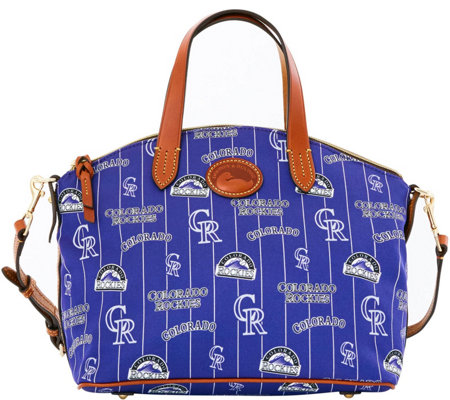 Dooney & Bourke MLB Nylon Rockies Small Satchel