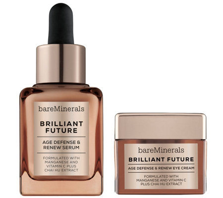 bareMinerals Brilliant Future Serum and Eye Cream Duo