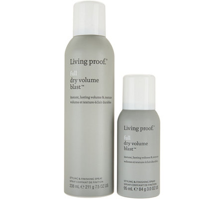 Living Proof Full Dry Volume Blast Styling Spray w/ Travel Auto-Delivery
