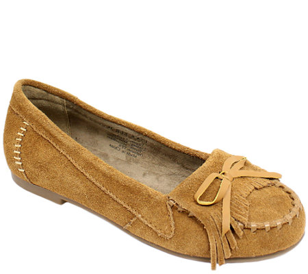 Lamo Dije California Leather Moccasins - Gabrielle