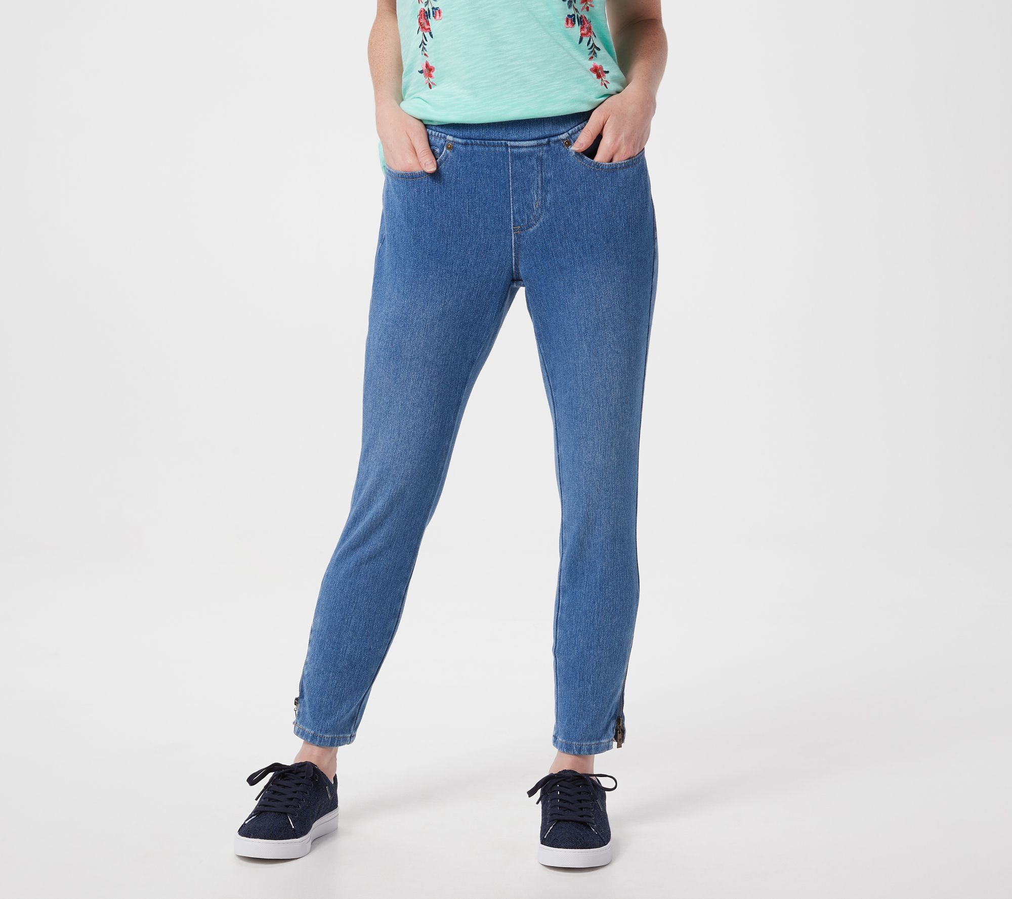 "New Simply B Plus taille Slim Leg Jeans Bleu Noir Taille 26 Jambe 31/"" RRP £ 40"