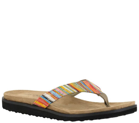 Easy Street Thong Sandals - Stevie