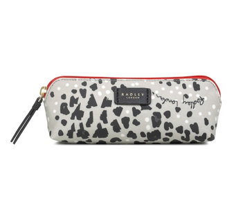 RADLEY London Leopard Oilskin Small Ziptop Pouch - A440661