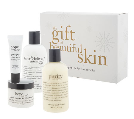 philosophy the gift of beautiful skin 4-piece skin care system