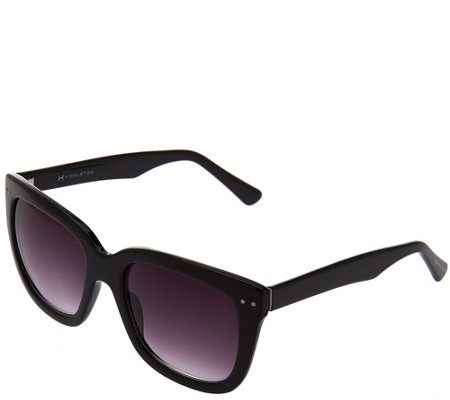 H by Halston Square Framed Sunglasses