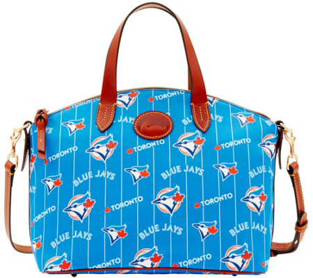 Dooney & Bourke MLB Nylon Blue Jays Small Satchel