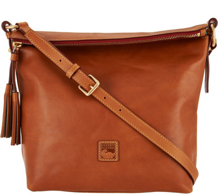 Dooney & Bourke Florentine Leather Dixon Crossbody