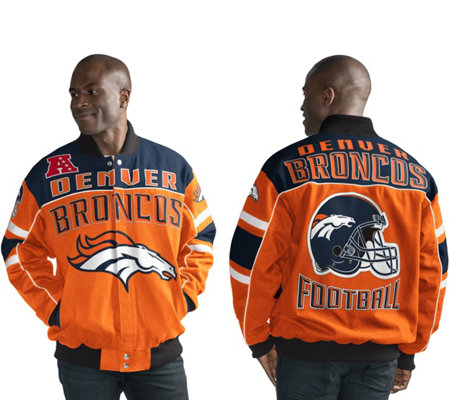 NFL Cotton Twill Snap Closure Jacket