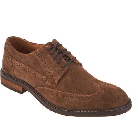 Vionic Men's Leather or Suede Oxfords - Bruno