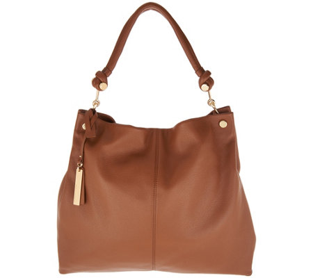 Vince Camuto Leather Hobo Handbag Ruell