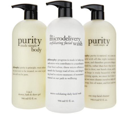 philosophy super-size purity and microdelivery face & body