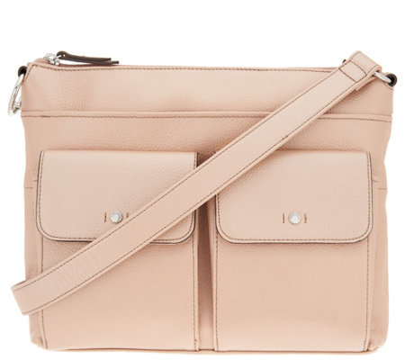 """As Is"" Tignanello Leather Convertible Crossbody"