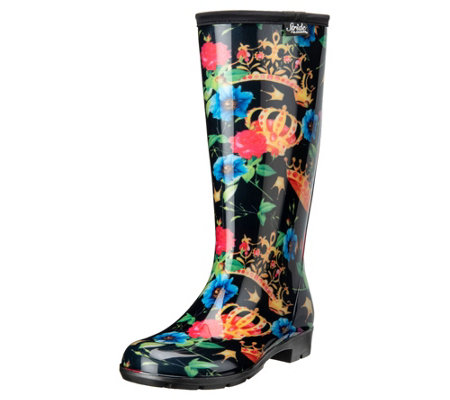 Stride by Sloggers Waterproof Tall Fashion Rainboots