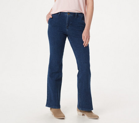 BROOKE SHIELDS Timeless Tall Flare Jeans -Indigo