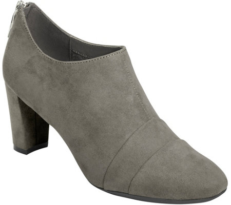 Aerosoles Side Zip Shooties - Tavern