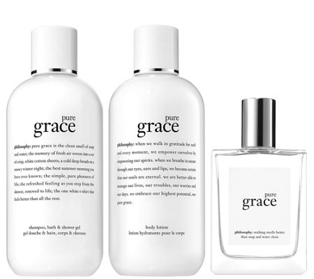 philosophy pure grace layering set