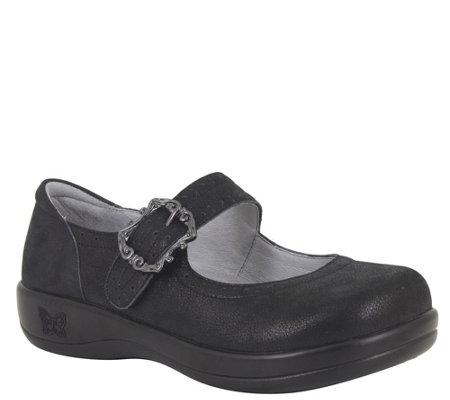 Alegria Leather Mary Janes - Kourtney
