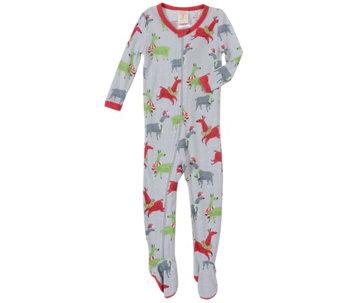 ab65b3262f Munki Munki Infant Llamas Thermal Sleeper PJ - A419262