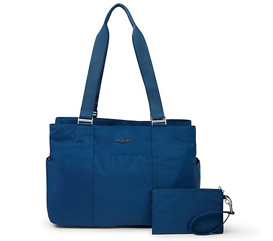 baggallini East/West Tote Bag with Wristlet