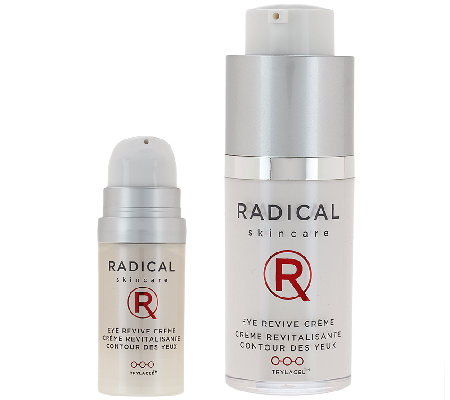 Radical Skincare Eye Revive Creme with Travel Size