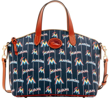 Dooney & Bourke MLB Nylon Marlins Small Satchel