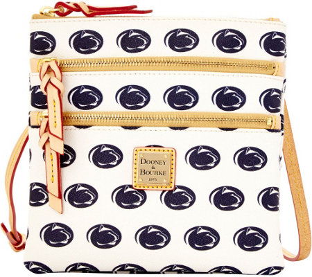 Dooney & Bourke NCAA Penn State University Zip Crossbody