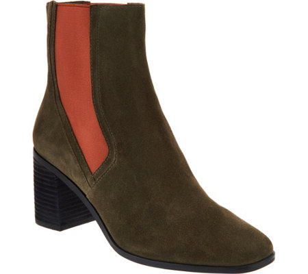 Lori Goldstein Collection Low Shaft Boot with Side Goring
