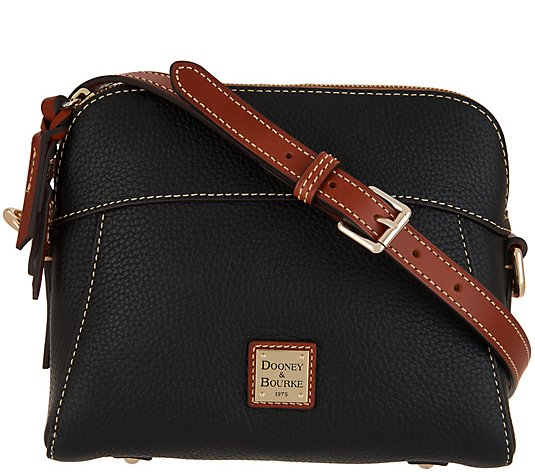 Dooney & Bourke Pebble Leather Crossbody - Cameron