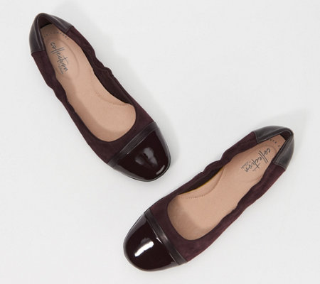 Clarks Leather or Suede Flats - Gracelin Jenny