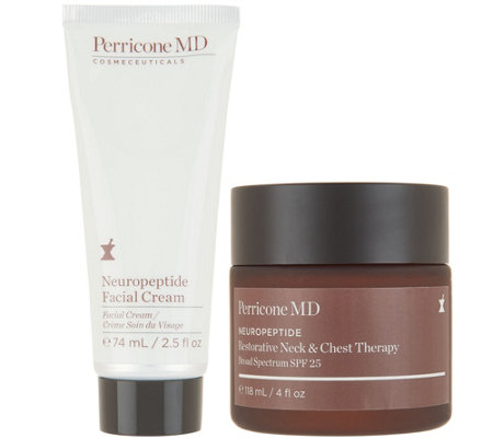 Perricone MD Power of Neuropeptides Face & Neck Duo Auto-Delivery