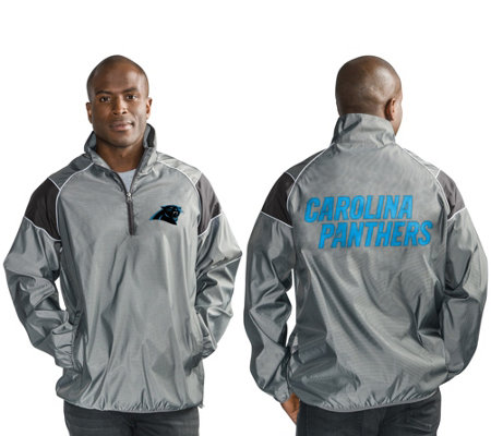 """As Is"" NFL Quarter Zip Lightweight Pullover Jacket"