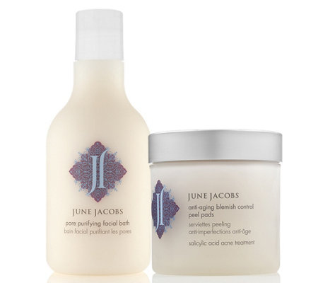 June Jacobs Anti-Aging Peel Pad and Facial BathDuo