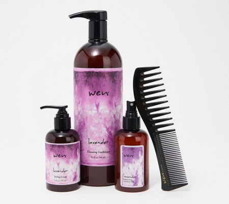 Wen By Chaz Dean Ultimate Hair Styling 4 Piece Collection