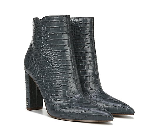 Sam Edelman Animal Pointed-Toe Ankle Boots - Raelle