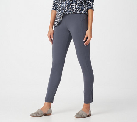 Susan Graver Regular Weekend Premium Stretch Leggings