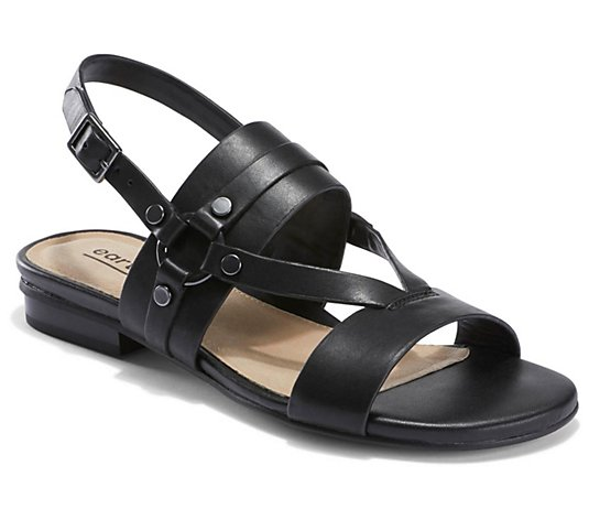 Earth Adjustable Leather Strap Sandals -Mykonos Delos