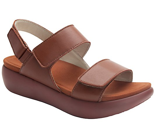 Alegria Leather Sandals - Bailee
