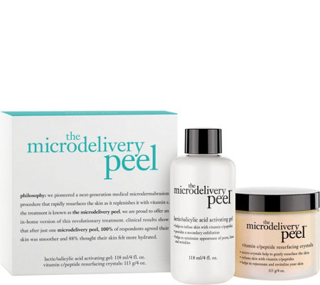 philosophy super-size 2-pc. vitamin C microdelivery peel