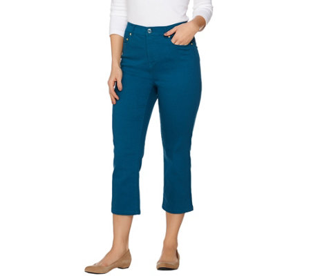 C. Wonder 5-Pocket Slim Leg Crop Length Jeans